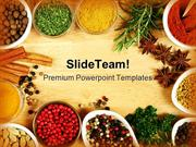 Spices Food PowerPoint Templates And PowerPoint Backgrounds ppt themes