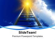 Stairway To Heaven Future PowerPoint Templates And PowerPoint Backgrou