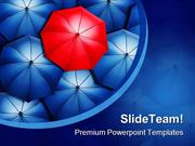 Stand Out From Crowd Business PowerPoint Templates And PowerPoint Back