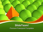Stand Out From Crowd Shapes PowerPoint Templates And PowerPoint Backgr