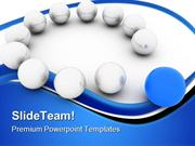 Stand Out Of Crowd Business PowerPoint Templates And PowerPoint Backgr