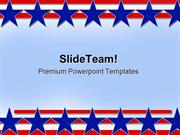 Stars And Stripes Abstract Background PowerPoint Templates And PowerPo
