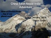 Tibet Everest Nepal India  Tharon 2009