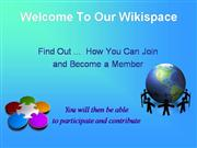 Joining Wikispaces Owhata