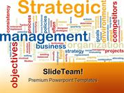Strategic Management Business PowerPoint Templates And PowerPoint Back