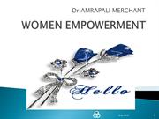 WOMEN EMPOWERMENT--17th December2012