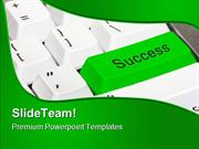 Success Computer PowerPoint Templates And PowerPoint Backgrounds ppt t
