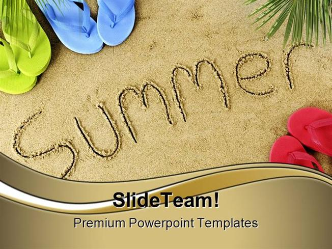 summer holidays powerpoint templates and powerpoint backgrounds pp, Modern powerpoint