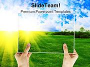 Summer Photo Nature PowerPoint Templates And PowerPoint Backgrounds pg