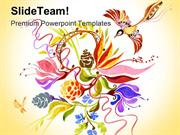 Summer Theme Abstract PowerPoint Templates And PowerPoint Backgrounds