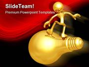 Surfing The Big Idea Business PowerPoint Templates And PowerPoint Back
