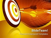 Target Abstract Business PowerPoint Templates And PowerPoint Backgroun