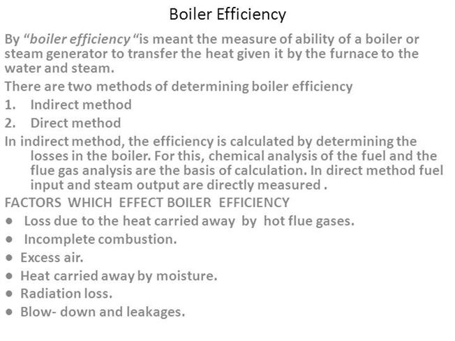 Boiler Efficiency |authorSTREAM