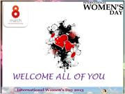 INDIAN WOMANS DAY 2013