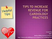 Tips To Increase The Revenue For Cardiology Practice
