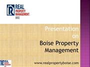 Real Property Management- Real Player In Property Management Canada