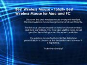 Best Wireless Mouse for Mac and PC Awesome Design Wireless Mouse