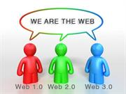 Distinguishing between web 1.0, 2.0 and 3.0