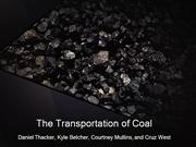 The Transporation of Coal