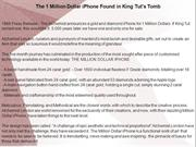 The 1 Million Dollar iPhone Found in King Tut's Tomb