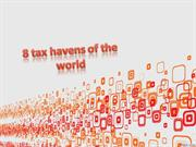 8 tax havens of the world