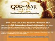 God of War Ascension Champions Pack Leaked - Tutorial