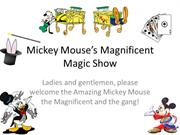 Mickey Mouse's Magnificent Magic Show