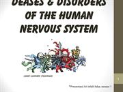 Deases & Disorders of the Nervous System