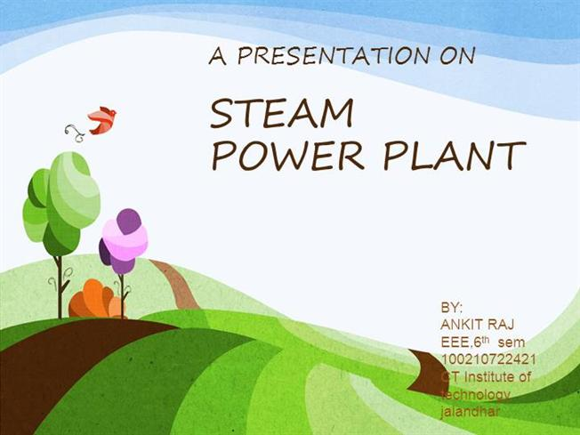 steam power plant authorstreamPower Plant Layout Ppt #13