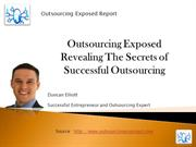 Revealing The Secrets Of Successful Outsourcing