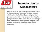 Need Of concept Art in Movie Making
