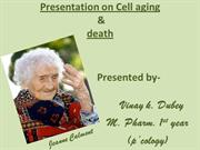 vinay @ cell aging & death