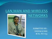 LAN,WAN,WIRELESS NETWORK