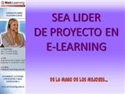 Sea lider en proyectos e-learning
