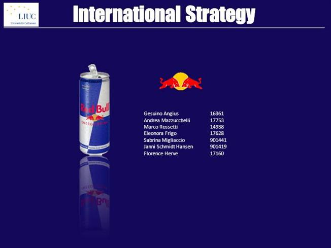 marketing mix red bull