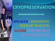 cryopreservation