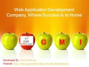 Web Application Development Company, Where Success is at Home