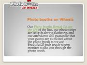 Photo Booth Rental CA
