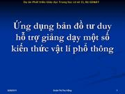 Su dung ban do tu duy mon vat ly