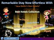 New Delhi 5 Star Hotels Booking