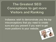 The Greatest SEO Conceptions to get more Visitors
