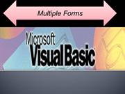 Multiple Forms( Tutorial in VB6)