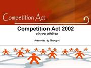 Competition Act 2002 PPT