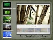 Best 5 jQuery Script for Gallery