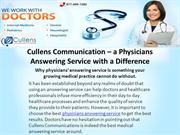 Cullens Communication – a Physicians Answering Service with a Differen