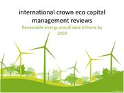 international crown eco capital management reviews