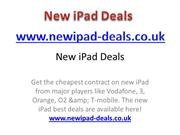 New iPad Deals