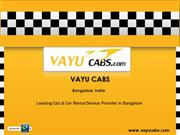 Best Car Rental Service - Car Rental in Bangalore
