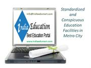 Standardized and Conspicuous Education Facilities in Metro City