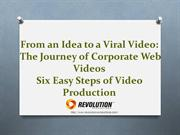 From Ideas to Videos - The Corporate Web Video Journey